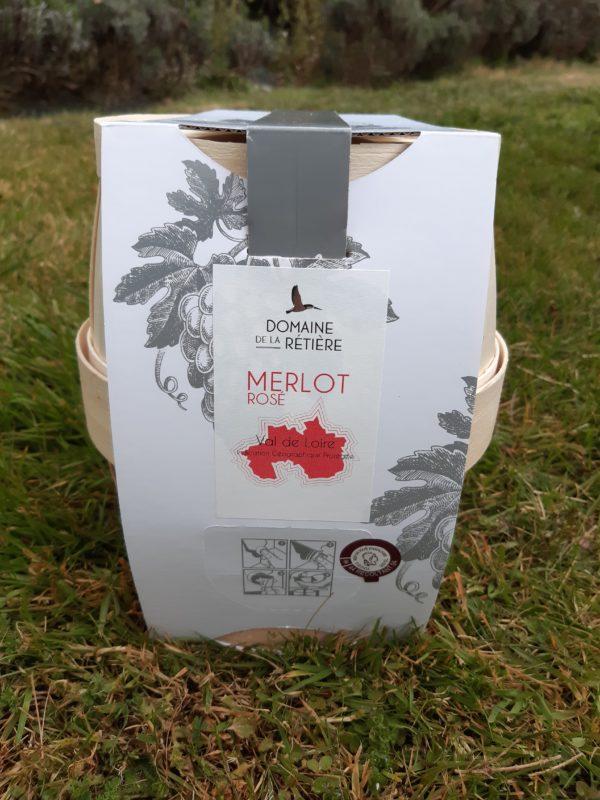 BIB Merlot rosé